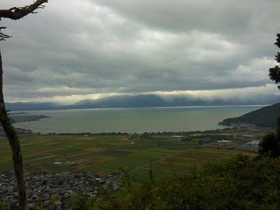 八幡山からの眺め